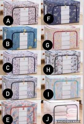 Steel Frame Storage Box Serbaguna