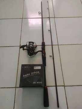 Pancing set joran carbon holow 180cm