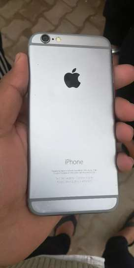 I phone 6 in good condition with original charger