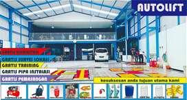 pabrik alat cuci mobil hidrolik, hidrolis mobil H bergaransi 5 tahun