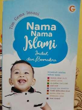 Buku Nama nama bayi