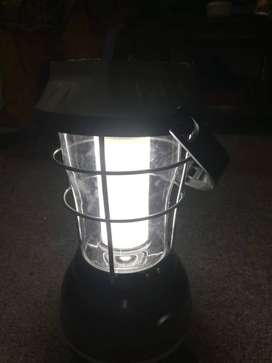 Solar Lantern with 4 ways Charging and Operation