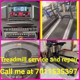 Treadmill service and repair