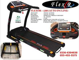 Brand New Box Pack  Flexor 1200 Electric Treadmill
