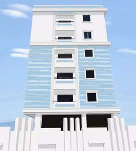 Newly constructed 3 BHK flat for sale in kompally.