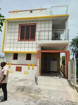 East South corner Duplex house 3bhk house