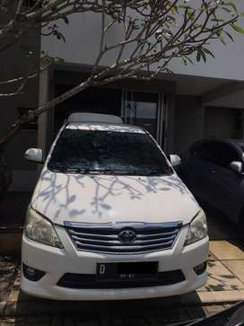 Jual Toyota Kijang Innova 2012 type V
