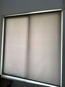 "Gray Window Roller Shades/Blinds (60"" x 84"")"