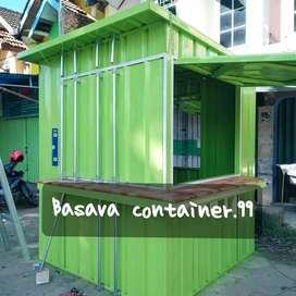 Container kedai, booth usaha, booth bazzar, booth makanan, container
