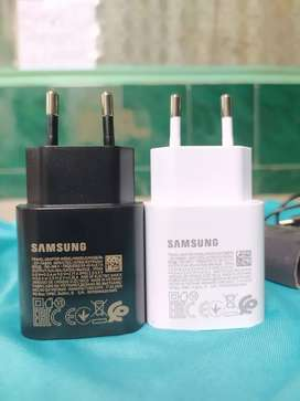 Charger samsung super fast charging original 3A 25watt