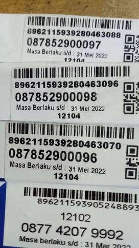 NOMOR CANTIK XL MASA AKTIF 3 TAHUN BEBAS NELPON SMS TANPA PULSA