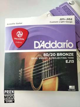 D'Addario EJ13 senar gitar akustik 011