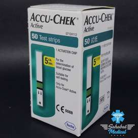 Strip Tes Glucosa AccuCheck Active