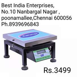 All new 100kg weighing machine with one year warranty