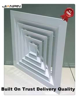 Aluminium Air Vent Covers AC With Air Diffuser  Size 9X9 Inch