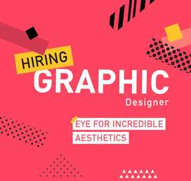 Expert graphic Designer Required, (Male/female)