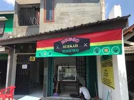 Rumah dan kost serta Burjo investasi tinggi