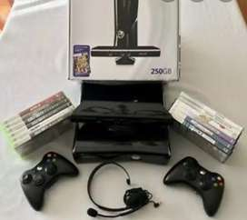 Xbox 360 Console with all accessories available for sale