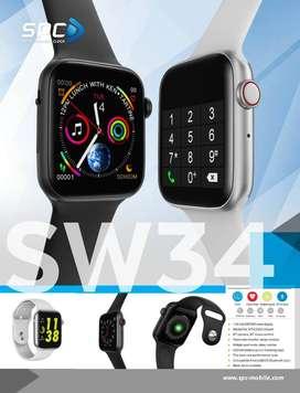 Smartwatch SPC SW34 Jam Tangan Pintar Bergaransi Resmi 1 Tahun