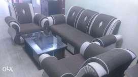 Five seat Jute combination Sofa Set