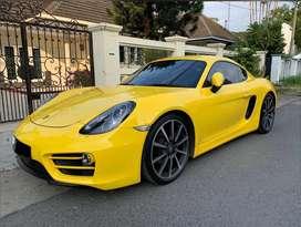 Porsche Cayman 2.7 Pdk Atpm 2013 Yellow Full Option