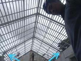 jasa pembuatan kanopi atap gudang pabrik ruko iwf canal h wawan