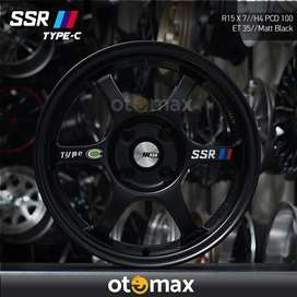 Velg Mobil SSR Type C Ring 15 Matt Black