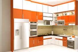 Kitchen set Furniture Interior Kitchenset Free Design dan Survey AP