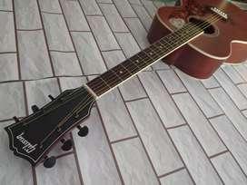 New gitar akustik suara mantap