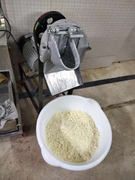 Cheese crusher 1hp motor , pizza oven fast food setup