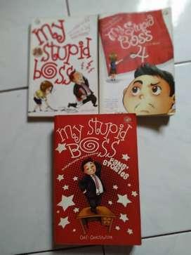 Paket Novel My Stupid Boss