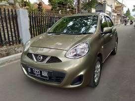 Tdp 13Juta // Nissan March Automatic 2013 Hijau Metalik
