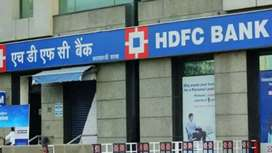 Hiring hdfc bank for male female candidate required fresher