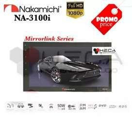 DOUBLE DIN nakamichi 3101i, cocok di avanza/cayla/brio/ertiga