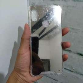Case anti crack Xiaomi red mi note 5 (silver miror)