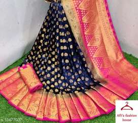 Banarasi silk saree   COD available with free home delivery