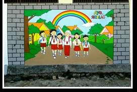 Jasa Lukis Dinding / Mural