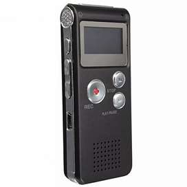 Perekam Suara Digital Voice Recorder 8GB - R29 - Black
