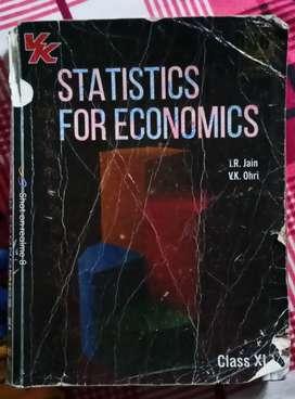 Statistics for Economics (T.R Jain, V.K Ohri) Class 11th