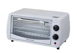 Black & Decker TRO1000C 9-Liter 800W Toaster Oven, 9 inches, 220 Volts