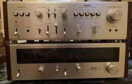 Nikko TRM-800 Integrated Amplifier and Nikko FAM-800 FM/AM Tuner