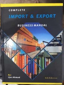 Import Export Business Manual Book 4th Edition By Ijaz Ahmed