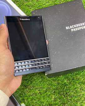 BlackBerry Passport PTA Approved With Box And Charger