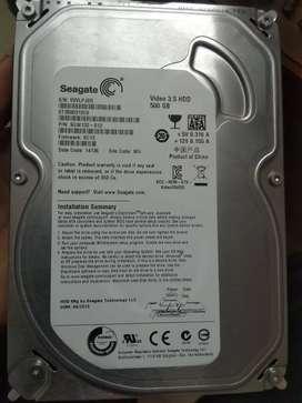 LG DvD hard disk 500gb smps all kit