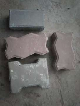 Tuff tiles and crab stone