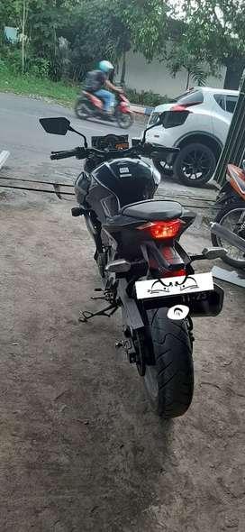 Kawasaki Z250 fi hitam 2013