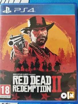 Exchange Red dead redemption 2 ps4
