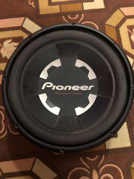 Pioneer woofer D4 limited edition