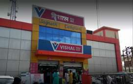 Jobs in Vishal mega mart urgently need 25 candidets