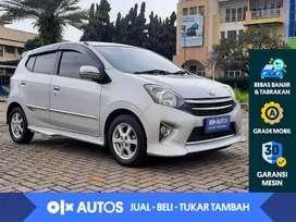 [OLX Autos] Toyota Agya 1.0 G TRD A/T 2016 Silver Metalik